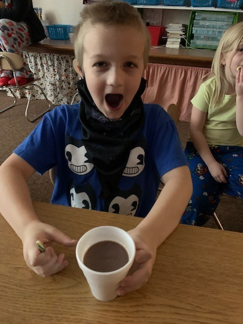 Hot Coco Time in First Grade