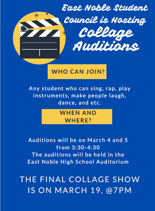 Collage Auditions