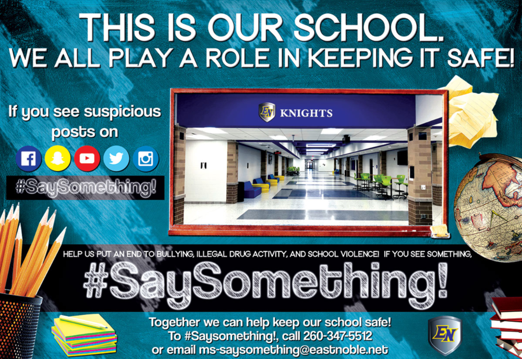 #SaySomething!