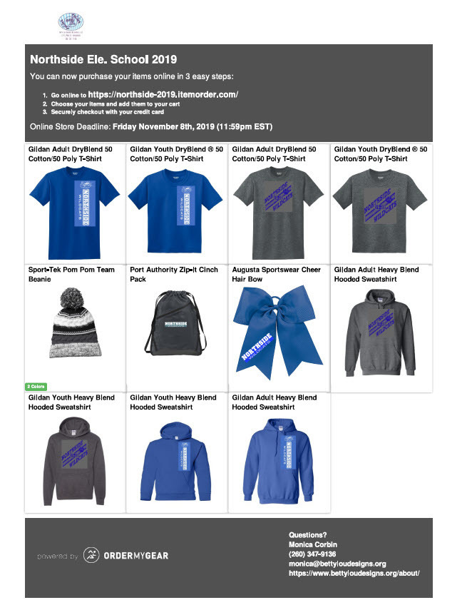 North Side Spirit Wear