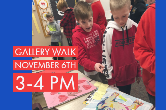 Gallery Walk, 3-4pm