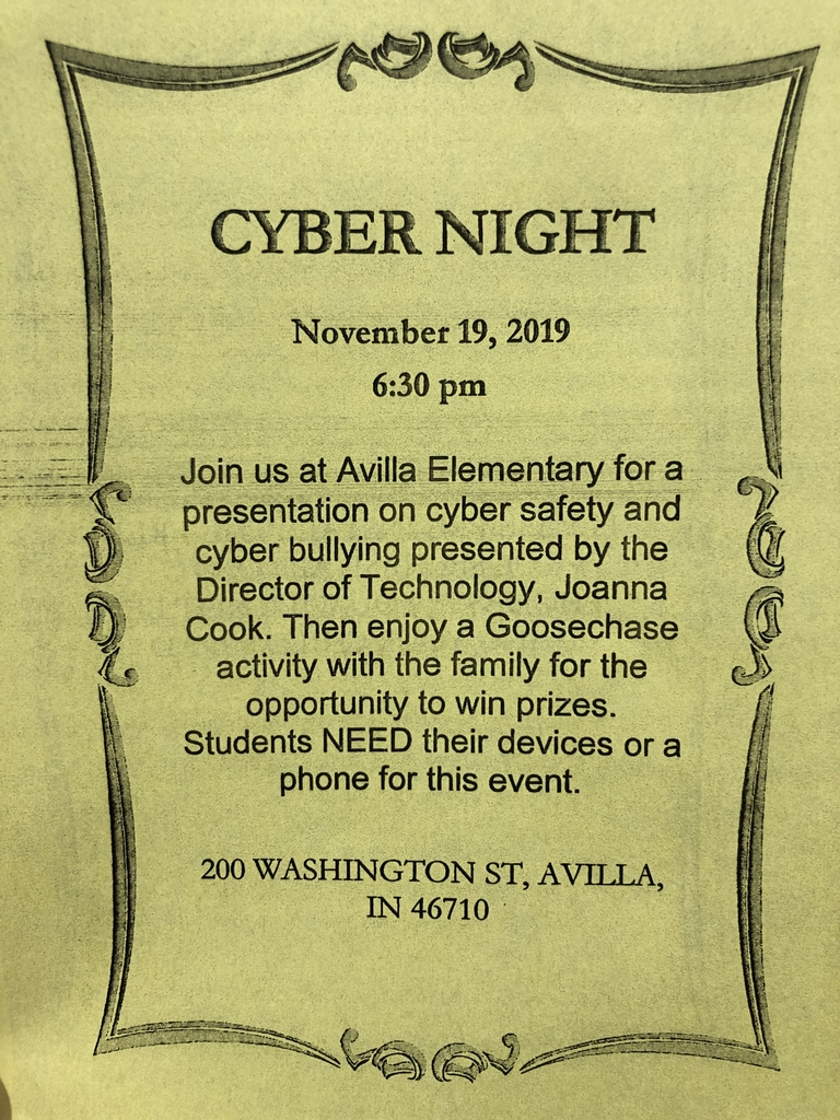 Cyber night flyer