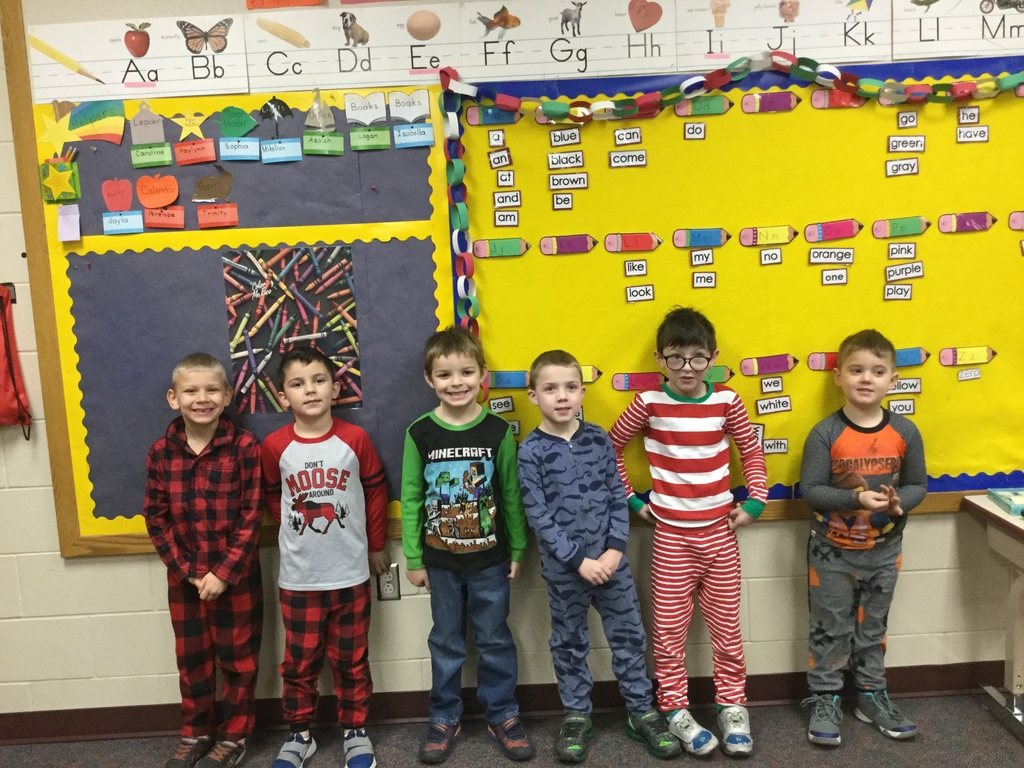 Kindergarten Pajama Day