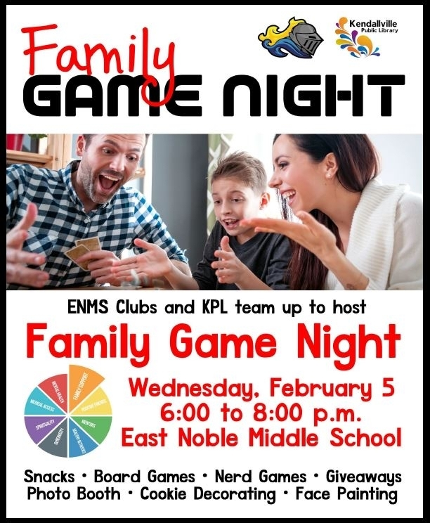 ENMS Family Game Night