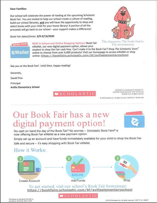Book fair payment options