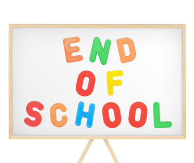 end of school year