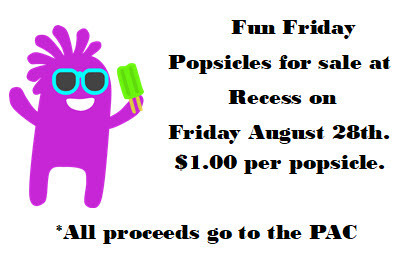 Popsicle Friday!